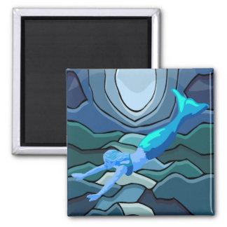 Mystical Mermaid Magnet