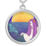 Mystical Midnight Mermaid Necklace