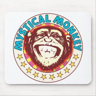 Mystical Monkey Mouse Pad