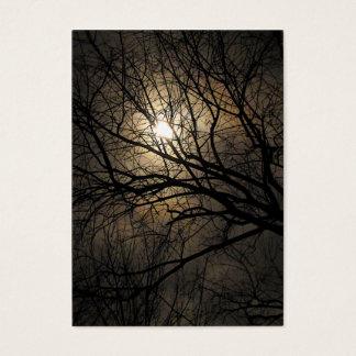 Mystical Moon ATC Business Card