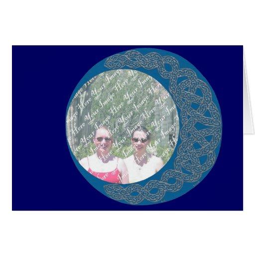 Mystical Moon Frame card