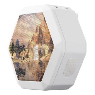 Mystical moon landscape white boombot rex bluetooth speaker