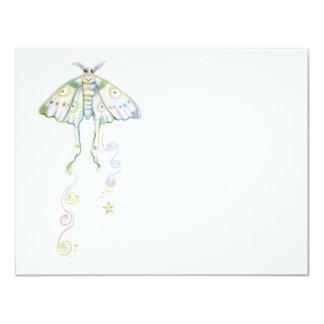 Mystical Moon Moth Card