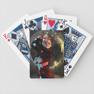 Mystical moon playing cards