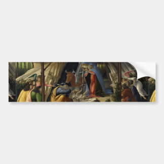 Mystical Nativity by Sandro Botticelli Bumper Sticker