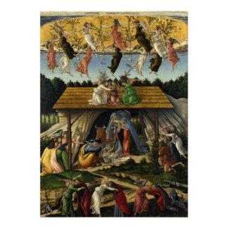 Mystical Nativity by Sandro Botticelli Invitations