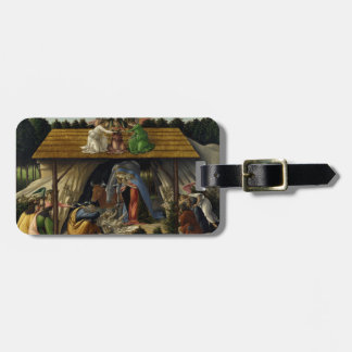 Mystical Nativity by Sandro Botticelli Tag For Luggage