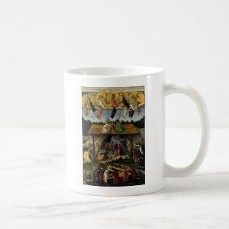 Mystical Nativity by Sandro Botticelli Mugs
