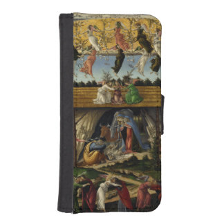 Mystical Nativity by Sandro Botticelli iPhone 5 Wallet Case