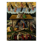Mystical Nativity by Sandro Botticelli Postcard