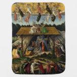 Mystical Nativity by Sandro Botticelli Baby Blankets