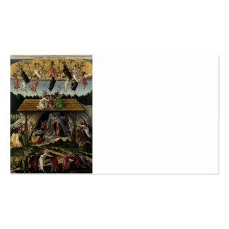 Mystical Nativity Double-Sided Standard Business Cards (Pack Of 100)