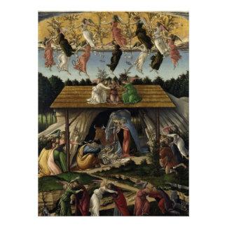 Mystical Nativity Custom Invite
