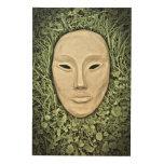 Mystical Nature Wood Print