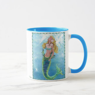 Mystical Ocean Siren Mermaid Coffee Cup Mug