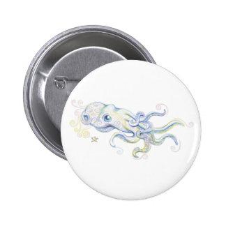 Mystical Octopus Buttons