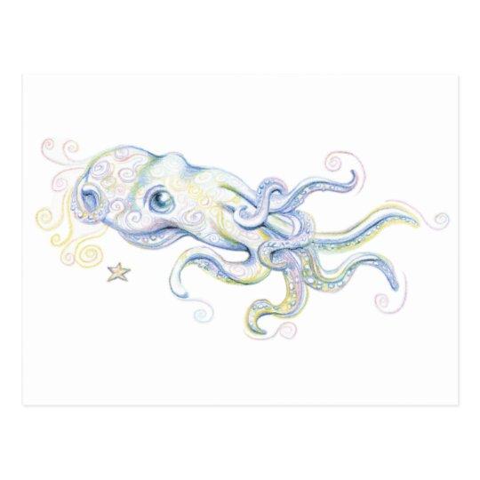 Mystical Octopus Postcard