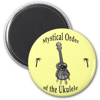 Mystical Order of the Ukulele 2 Inch Round Magnet