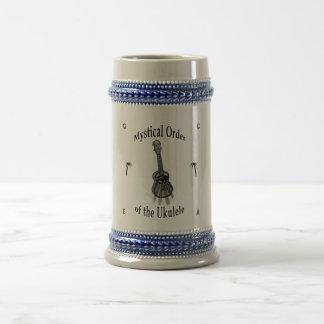 Mystical Order of the Ukulele Beer Stein