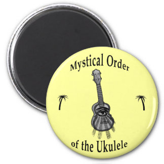 Mystical Order of the Ukulele Fridge Magnets