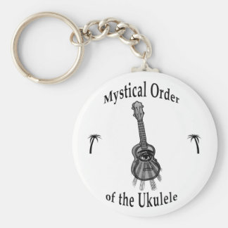 Mystical Order of the Ukulele Keychain