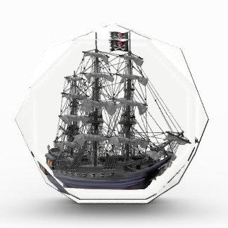 Mystical Pirate Ship Acrylic Award