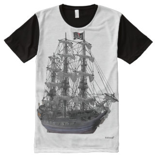 Mystical Pirate Ship All-Over-Print Shirt