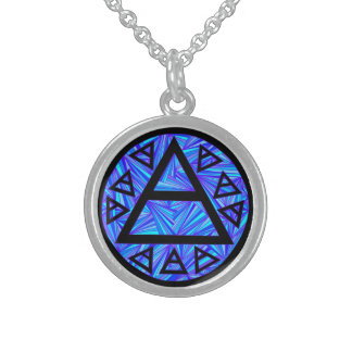 Mystical Plato's Air Sign New Age Triad Jewelry