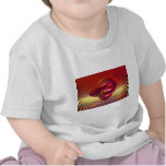 Mystical red rings t-shirt