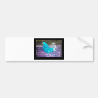 Mystical Rooster Art Bumper Sticker