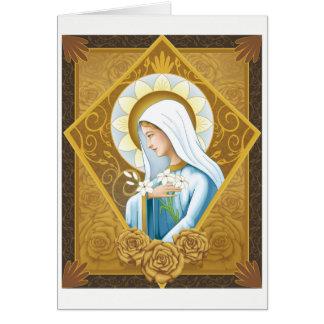 Mystical Rose Card