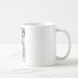 Mystical Rose In Darkness Coffee Mugs