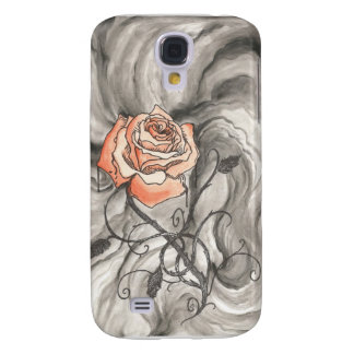 Mystical Rose In Darkness Galaxy S4 Covers