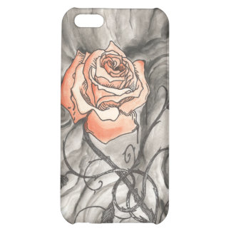 Mystical Rose In Darkness iPhone 5C Covers