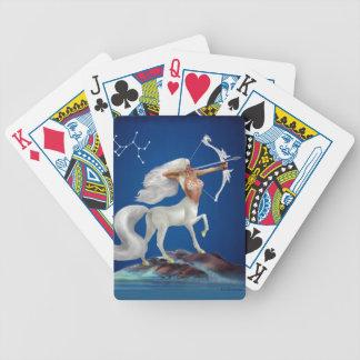 Mystical Sagittarius Bicycle Playing Cards