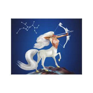 Mystical Sagittarius Canvas Print