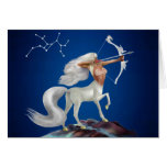 Mystical Sagittarius Greeting Card