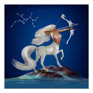 Mystical Sagittarius Poster