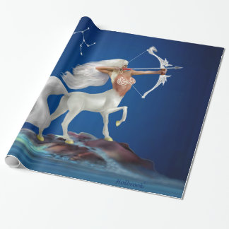 Mystical Sagittarius Wrapping Paper