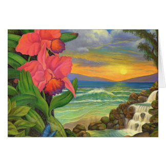 Mystical Seascape-Note Card