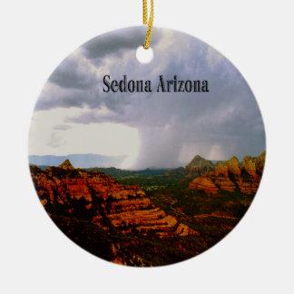 Mystical Sedona Arizona Ceramic Ornament
