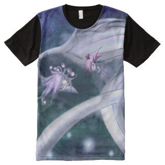 Mystical Sleeping Bird All-Over-Print Shirt