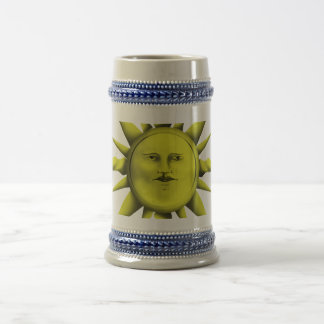 Mystical Sun Beer Stein