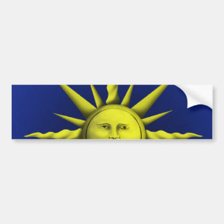 Mystical Sun Bumper Sticker