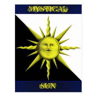 Mystical Sun Postcard