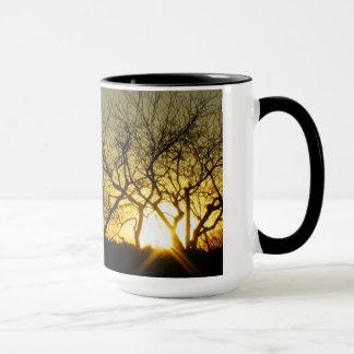Mystical sundown mug