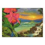 Mystical Surrealism Landscape Painting Cards