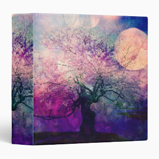 Mystical Tree and Night Moon Binder