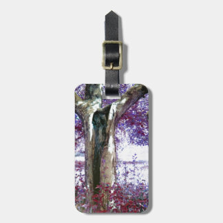 Mystical Tree Tag For Luggage