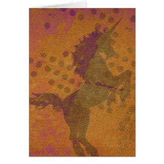 Mystical Unicorn Card